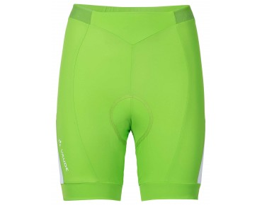 VAUDE ADVANCED SHORTS II women's cycling shorts apple