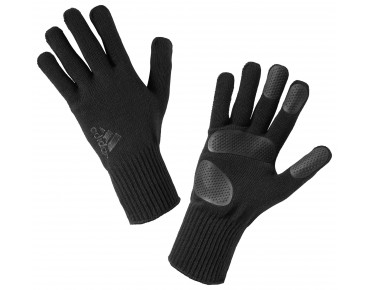 adidas LINER KNITTED gloves black/dark onix