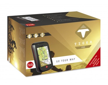 Falk Tiger Pro navigation device incl. Basic Map Plus and Premium Outdoor Map Germany