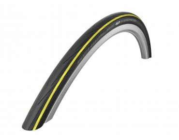 Schwalbe LUGANO Active road tyre black/yellow