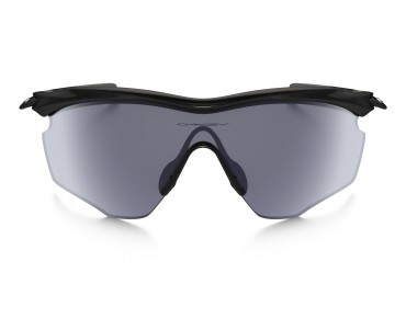 OAKLEY M2 FRAME XL Sportbrille polished black/grey