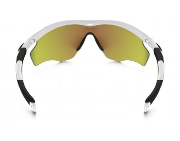 OAKLEY M2 FRAME XL Sportbrille polished white/fire iridium