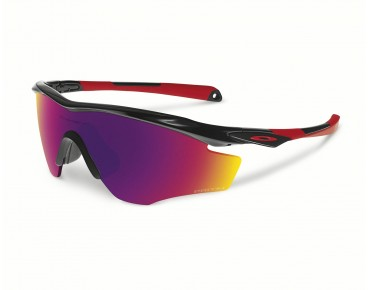 OAKLEY M2 FRAME XL Sportbrille polished black/PRIZM ROAD