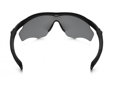 OAKLEY M2 FRAME XL Sportbrille polished black/black iridium