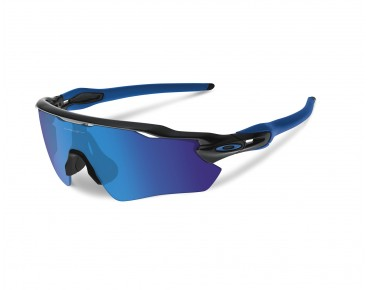 OAKLEY RADAR EV Path - occhiali polished black w/sapphire iridium