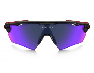 OAKLEY RADAR EV Path - occhiali polished black w/positiv red iridium