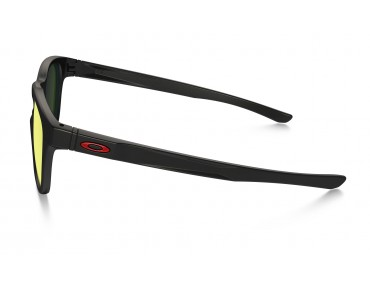 STRINGER sports glasses matte black/ruby iridium