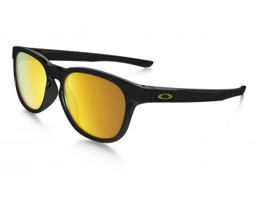 STRINGER sports glasses polished black w/24k iridium