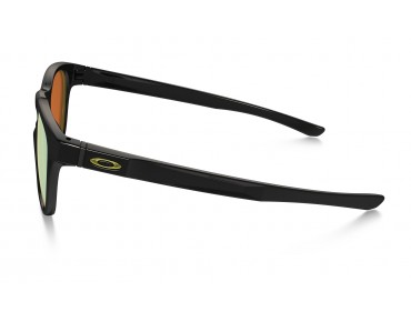 OAKLEY STRINGER Sportbrille polished black w/24k iridium