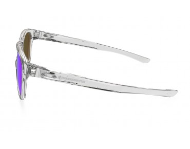 STRINGER sports glasses polished clear w/ sapphire iridium