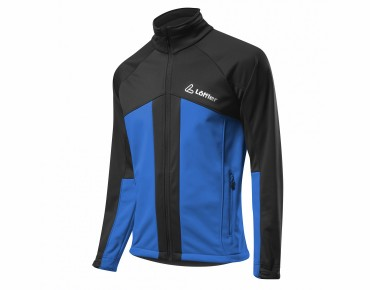 Löffler TEAMLINE GORE WINDSTOPPER SOFTSHELL WARM jacket tiefblau