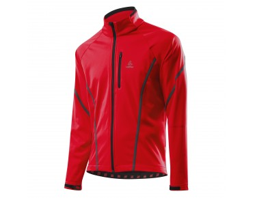 Löffler GORE WINDSTOPPER SOFTSHELL WARM jacket rot