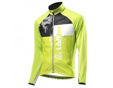 Löffler STYLES FZ thermal long-sleeved jersey hellgrün