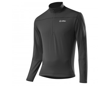 Löffler CASUAL HZ thermo long-sleeved jersey charcoal