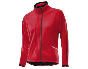 Löffler WINDSTOPPER SOFTSHELL WARM women's jacket red