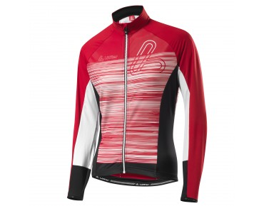 Löffler SZENE FZ women's thermal long-sleeved jersey red