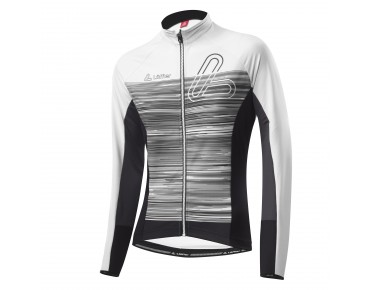 Löffler SZENE FZ women's thermal long-sleeved jersey weiß