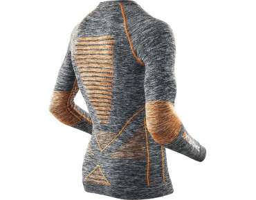 X BIONIC ACCUMULATOR EVO MELANGE long-sleeved base layer melange/orange