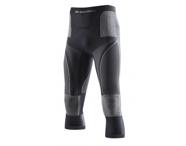 X BIONIC ACCUMULATOR EVO 3/4-length underpants charcoal/pearl grey