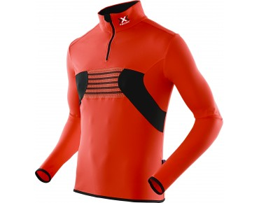 X BIONIC RACOON 2ND LAYER long-sleeved jersey red/black