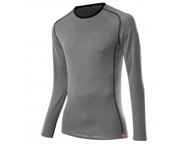 Löffler TRANSTEX MERINO long-sleeved base layer grey