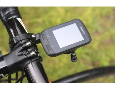 HideMyBell Garmin Edge handlebar mount with integrated bell schwarz