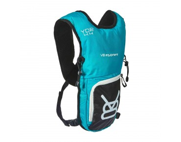 YDR 4.4 hydration pack incl. 1,5 L bladder turquoise/black