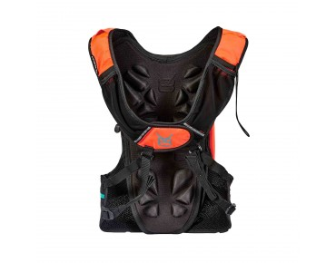 V8 RAC 6.2 hydration pack incl. 1,5 L bladder orange/black