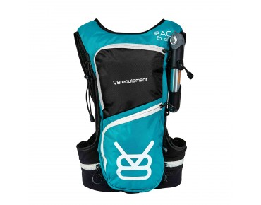 V8 RAC 6.2 hydration pack incl. 1,5 L bladder turquoise/black