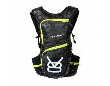 V8 RAC 6.2 hydration pack incl. 1,5 L bladder camo/black