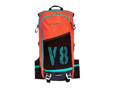 V8 FRD 11.1 Rucksack orange/black