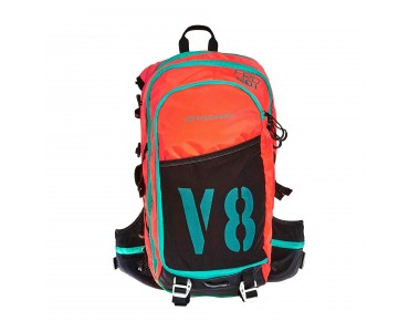 FRD 20.1 backpack with helmet holder orange/black