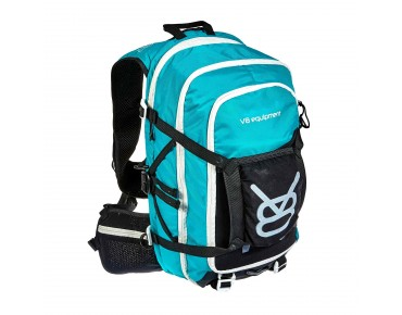 FRD 20.1 backpack with helmet holder turquoise/black