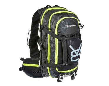 FRD 20.1 backpack with helmet holder camo/black