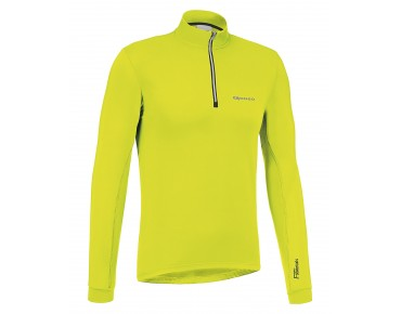 GONSO CHRISTIAN - maglia maniche lunghe safety yellow