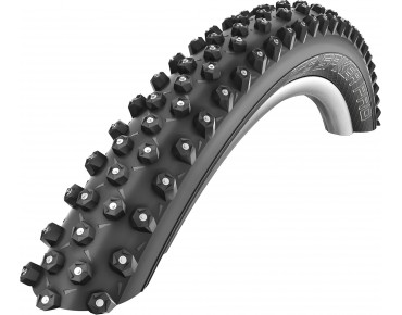 Schwalbe ICE SPIKER PRO Performance Line MTB Spike tyre HS 379, clincher tyre black