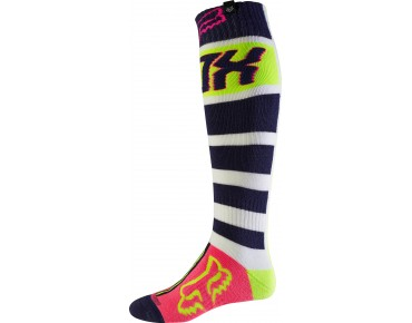 FOX FRI FALCON THICK MX socks yellow/blue