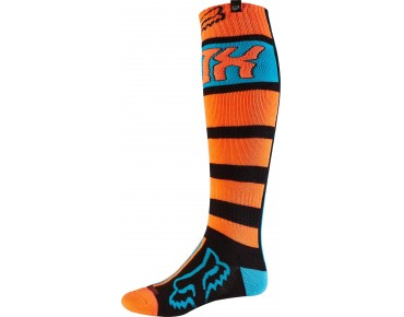 FOX FRI FALCON THICK MX socks orange/blue