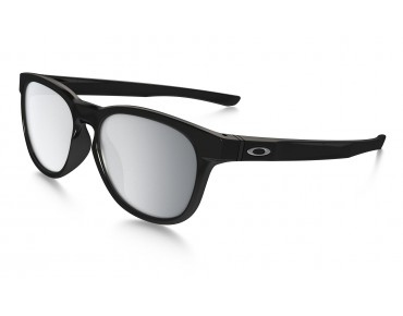 OAKLEY STRINGER Sportbrille polished black w/chrome iridium