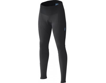 SHIMANO PERFORMANCE WINDBREAKER women's winter cycling tights black