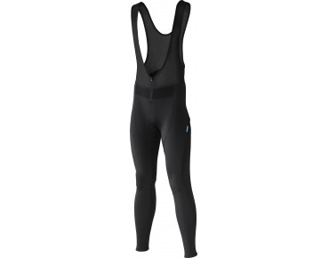 SHIMANO PERFORMANCE WINDBREAKER winter bib tights black