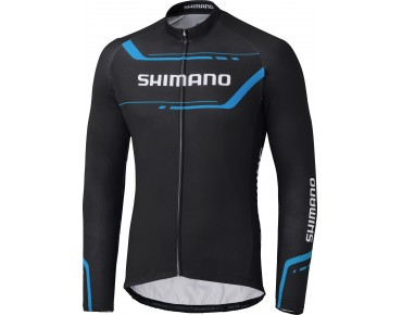 SHIMANO WINTER PRINT long-sleeved jersey black