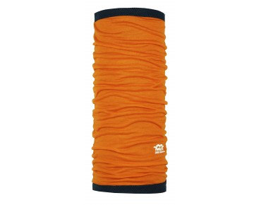 P.A.C. MERINO CELL WOOL PRO multifunctional scarf bright orange