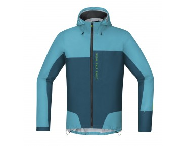 GORE BIKE WEAR POWER TRAIL GT AS jacket scuba blue/ink blue