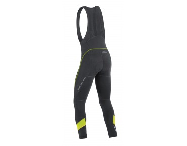 GORE BIKE WEAR POWER 3.0 - salopette lunga black/neon