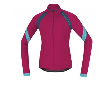 GORE BIKE WEAR POWER 2.0 thermal jersey for women jazzy pink/ink blue