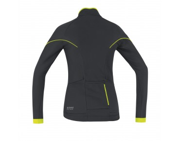 GORE BIKE WEAR POWER 2.0 thermal jersey for women black/neon