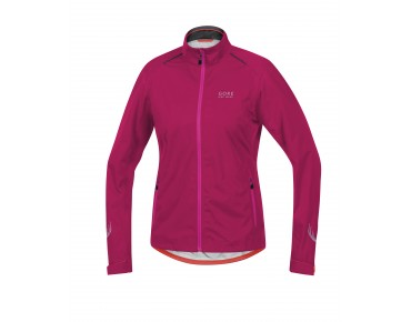 GORE BIKE WEAR ELEMENT GT AS waterproof jacket for women jazzy pink/magenta