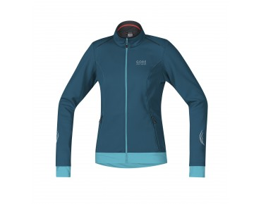 GORE BIKE WEAR ELEMENT WS SO women's jacket ink blue/scuba blue
