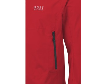 GORE BIKE WEAR GWS jacket red
